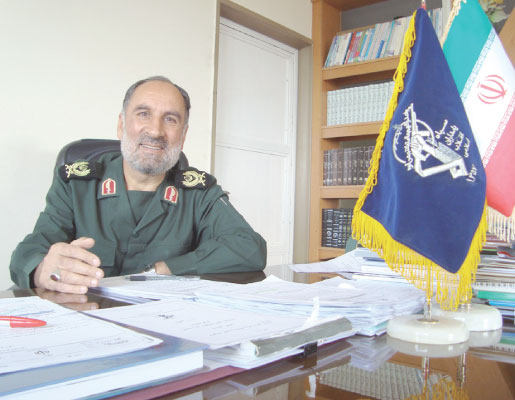سردار سرتیپ دوم پاسدار غلامرضا احمدی